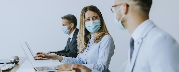 Maskenpflicht im Unternehmen