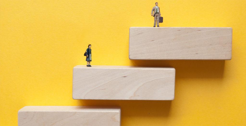 Symbolische Darstellung Gender Pay Gap