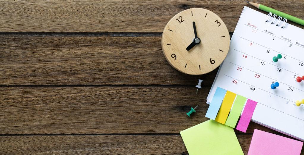 Uhrzeit und Kalender
